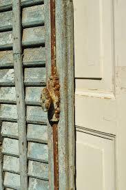 Alte Französische Fensterlädenherrlich Verwittert Old Shutters