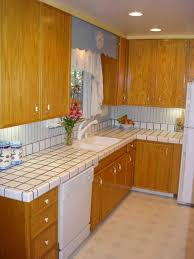How To Remove Kitchen Cabinet Remove Tile Countertop Without Damaging Cabinets
