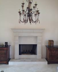 cast stone fireplace mantels terranean family room