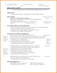 Education For Resume Examples Elementary New Yoga Teacher Sample