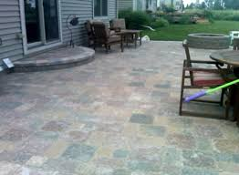 stone pavers patio design ideas paver raised 2