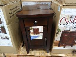 chair side table. universal furniture carly chairside table costco 2 chair side
