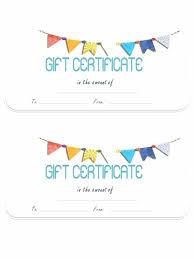 Gift Certificate Printable Free Free Blank Gift Certificate Template Gift Certificates