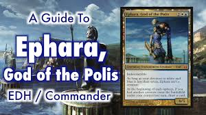 the most civilized control deck ephara of the polis edh mander for magic the gathering