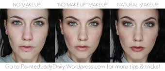 no makeup makeup is designed to look completely natural someone without experience should hardly be able to tell that you have any makeup on at all