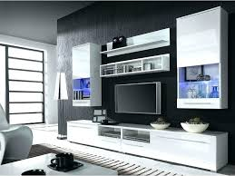 modern wall unit units with fireplace tv designs