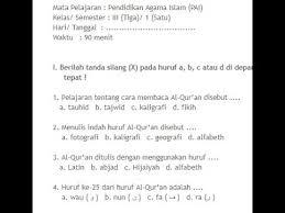 Maka postingan saya tentang soal usbn pai smp plus kunci jawabannya. Soal Agama Islam Smp Kelas 9 Dan Kunci Jawaban
