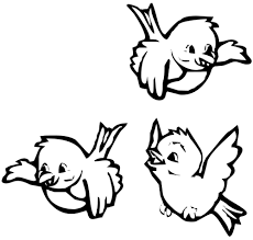 Small Picture Bird Coloring Pages For Kids Printable Virtrencom