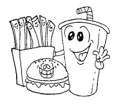 Food Chain Coloring Pages Coloring Book Sheets Bspokeme