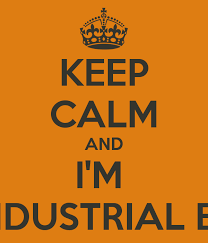 Keep Calm And Im A Master Industrial Engineering Poster