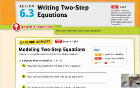 lesson 6 3 writing two step equations