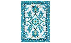 visions iv palazzo indoor outdoor rug azure rugs cm liora manne kitchen