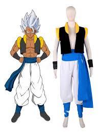 Dragon Ball Cosplay Costume Super Broly Son Goku Kakarotto And Vegeta Gogeta Suit Anime Cosplay Costume