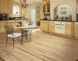 image of natural maple hardwood flooring