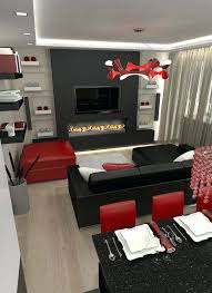 living room red and grey best ideas