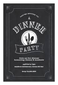 dinner party invites templates chalk board dinner party free dinner party invitation template