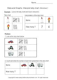 Tally Chart Worksheets Grade 4 Bar Graph Worksheets Grade 4 Pictograph And For 5 4th 3