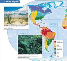 World Climate Zone Chart World Climate Regions