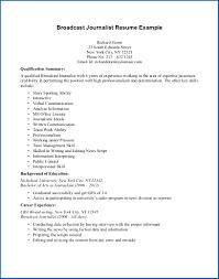 Journalism Resume Sample Clever Design Journalism Resume Examples 24 Sample Cv Resume Ideas 9
