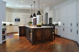 Mediterranean kitchen idea in Houston with limestone countertops