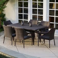 attractive design ideas for black wicker outdoor furniture concept modern wicker furniture for your patio ideas exterior bendut