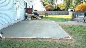 laying concrete patio slabs ideas pour concrete patio or pouring concrete gorgeous pouring a concrete patio
