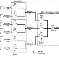 1 example of a pv array wiring diagram showing disconnect locations example of a pv array wiring diagram showing disconnect locations fuses and circuit breakers