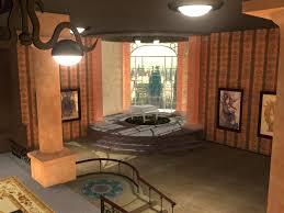 Steampunk Office Free 3D model