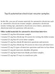 Electrician Cover Letter Sample Journeyman Electrician Cover Letter Top 100 Automotive 92