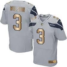gold medium Seahawks 2x xl Elite Men's Nfl 3x Seattle Wilson large 3 Grey 4x Alternate Jersey 5x Small Russell
