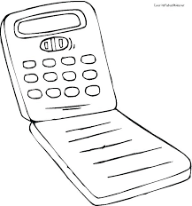 Cell Phone Coloring Pages Free Printable Col Atalmage Co