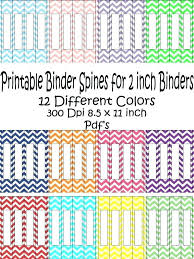 Avery Binder Spine Inserts Template