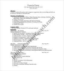 Medical Assistant Resume Template – 8+ Free Word, Excel, PDF Format ...