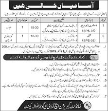 New Jobs Garrison Hrdc Gujranwala Cantt Jobs 2019