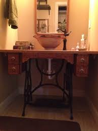 52+ Ideas for antique furniture bathroom vanity old sewing machines |  Pallet patio furniture diy, Diy patio furniture, Furniture