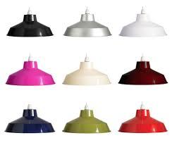 metal lamp shade cone shape pool table or billiard light
