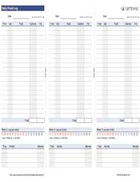Diary Format Template 19 Printable Food Diary Forms And Templates Fillable