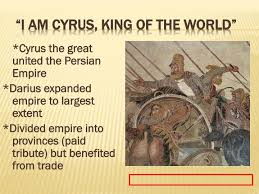 King Cyrus And King Darius Venn Diagram Ppt Unit 2 Powerpoint Presentation Id 2078358