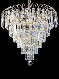 yamura gold 8 light crystal shower chandelier