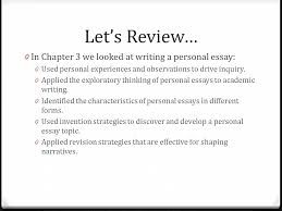moving into chapter writing a proposal college composition i  0 in chapter 3 we looked at writing a personal essay 0