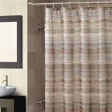 Fine Brown Fabric Shower Curtains Ventura Curtain L For Concept Design