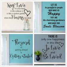keep love wall decal inspirational wall sticker words es decals vinyl removable wall sayings stickers home art decor star stickers for walls star wall