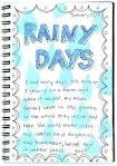 rainy day essay in english