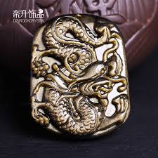 get ations opening of natural gold obsidian pendant dragons dragon zodiac pendants korean men and women belong to