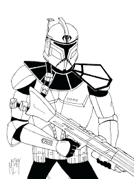 Clone Trooper Coloring Pages Coloring Lego Star Wars Color Pages