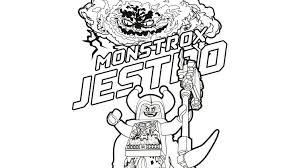 Monstrox En Jestro Kleurplaten Lego Nexo Knights Legocom Be