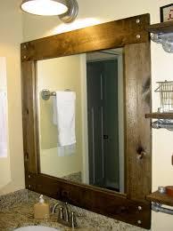 framed bathroom mirrors diy. Outstanding Framed Bathroom Vanity Mirrors Home Design Ideas Inside Modern Diy