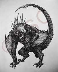 monster creature drawings.  Monster MonsterWhatever By Eychanchan Creature To Monster Creature Drawings K