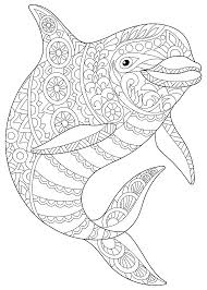 Dolphin Coloring Pages Printable Coloring Pages Of Cute Baby