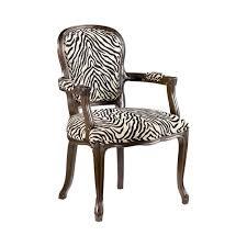 zebra arm chair. Zebra Print Armchair With Wooden Frame Arm Chair 0